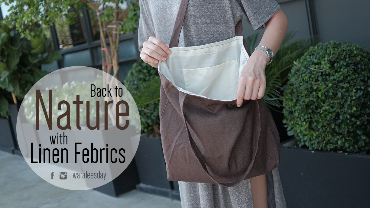 Back to Nature with Linen Febrics
