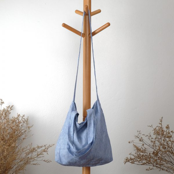 กระเป๋าผ้าลินิน 3 สาย